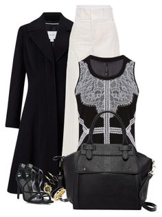 """""""Untitled #689"""" by mariacaniuca on Polyvore featuring John Lewis, Marni, Karen Millen, Pink Haley, Isabel Marant, Versace and Michael Kors"""