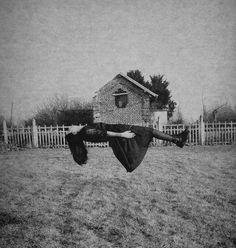 Lévitation by Colette Saint Yves, via Flickr