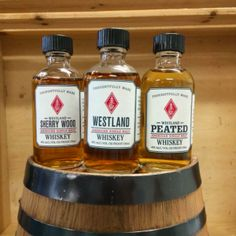 Whiskey like Seattle's Westland Distillery is showing that American whiskey is much more than just Kentucky-made. Rye Bourbon, Rye Whiskey, Jack Daniels, Whisky, Westland Distillery, Kentucky, Whiskey Bottle, American, School