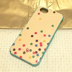 Kate Spade iPhone 6s shell case Great new Kate Spade case - used for about a week and switched phones. Only scratch is on inside that is in picture. kate spade Accessories Phone Cases