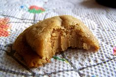 Peanut butter filled cookies