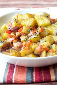 Breakfast Potatoes - Roasted breakfast potatoes bring comfort to the table.