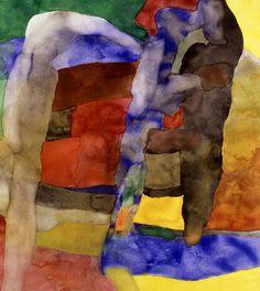 """""""Maurice Esteve (French, 1904 - 2001) A-1208, 1989 """""""