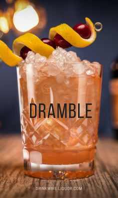 It's the perfect time to satisfy that sweet tooth with some Drambuie cocktails. The aged malt whisky is a combination of floral, herbal overtones and rich honey, offering a sweet yet balanced taste to your cocktails. Check out the recipe and make the Dramble today!