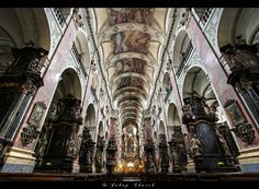 ... St. Jacob Church ... Prague by erhansasmaz.deviantart.com on @deviantART