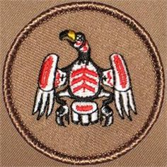 NW Indian Eagle Patrol Patch (#346)