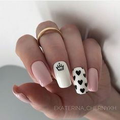 In seek out some nail designs and some ideas for your nails? Here is our set of must-try coffin acrylic nails for modern women. Summer Acrylic Nails, Best Acrylic Nails, Nail Designs Pictures, Nail Art Designs, Nails Design, Nail Design For Short Nails, Heart Nail Designs, Acrylic Nail Designs, Queen Nails