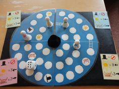 Verteltas - bordspel: Stanneke Sneeuwmanneke Preschool Board Games, Kindergarten, Diy Games, Play To Learn, Speech Therapy, Winter Wonderland, Diy And Crafts, Frozen, Seasons
