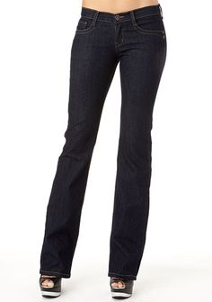 """Truck Embroidered-Pocket Bootcut Jean $34.90 Alloy.com has jeans that are long enough! I'm size 11, inseam 32"""""""