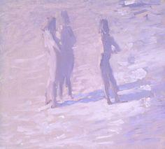 """Bato -   """"The Three Graces"""", oil, 30x33 cm"""