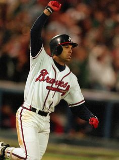 David Justice, GW HR, 1995 World Series