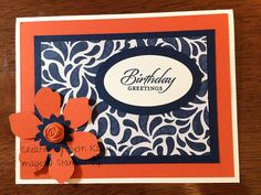 Technique card May | #fun flower punch #boho blossoms punch … | Flickr - Photo Sharing!