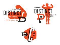Distinct Logo system comps