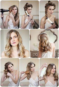 4 Beste Einfache und Modische Frisuren-Ideen für Feste im Herbst 2013