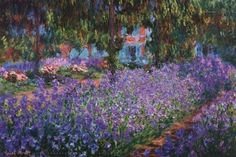 The Artist's Garden at Giverny, c.1900 Fine-Art Print by Claude Monet at FulcrumGallery.com