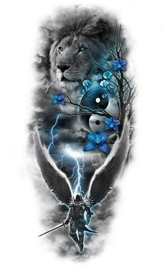 www.customtattoodesign.net wp-content uploads 2014 04 lion.jpg