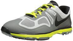 huge discount 93411 98f83 Golf Fashion - NIKE Golf Men s Lunar Ascend II Golf Shoe%2C Light Base Grey