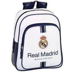 Real Madrid Best Club - Rugzak - 33 cm - Wit  #voetbal #voetbalkids #laliga #premierleague #cadeau