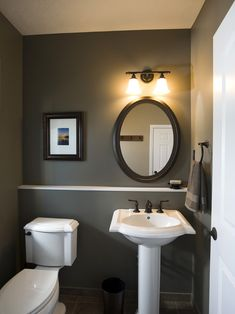 Powder Room Pedistal Sink Powder Room Design, Pictures, Remodel, Decor and Ideas - page 3