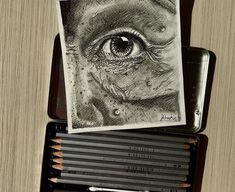 Graphite realist drawing Eye Sketch, Graphite, Art Sketches, Drawings, Graffiti, Drawing Eyes, Art Drawings, Sketches, Drawing