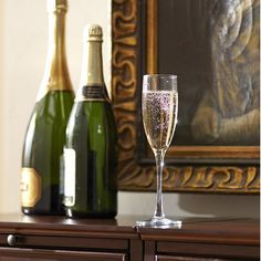 Classic Sparkling Wine Flutes (Set of 4)