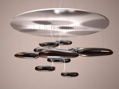Artemide Mercury 3d model | Ross Lovegrove