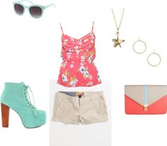"""summer"" by tavia-dawn-bechtel on Polyvore"