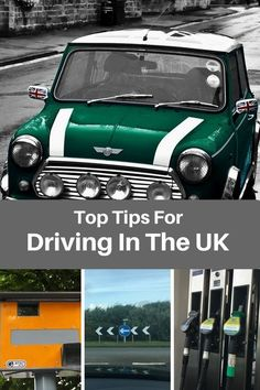 Top tips for driving in the UK. Useful driving advice for the first time driver especially visitors from the USA.