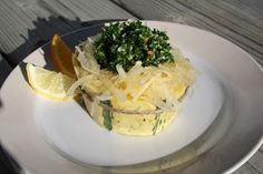 Tout Cru Dans Le Bec: Courge spaghetti et gremolata