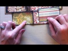 """Hey everyone!!!    Okay...you askd for it...so here it is...a tutorial on how I make my coin envelope pocket book insert for a mini album. It's super easy!!!!     Sorry the video is long...I decided to create a finished product for a future project.    Let me know if you like to hear me talke step by step...or if you prefer my """"sped up"""" tuturials bett..."""