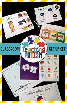 This is a bundle of resources that will be great to help you set up your new autism / special education classroom or just to update it and introduce some new strategies. Each resource comes with instructions so you are able to implement them and use them in the best possible way in your classroom!   We use these within our classroom every year and they work wonders with our students, so I am able to personally recommend you these resources and know that you will find them just ..