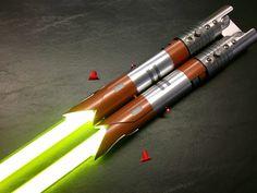 Jedi Temple Guard Sabers | Arm on Fire Custom Sabers