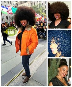 Aevin Dugas holds the record for the world's largest afro! #naturalhair