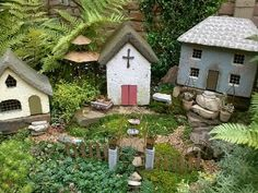 Millstone Market and Nursery fairy gardens