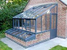 Edwardian Gallery White Cottage is part of Greenhouse shed - Lean To Greenhouse, Backyard Greenhouse, Greenhouse Plans, Greenhouse Wedding, Greenhouse Attached To House, Diy Small Greenhouse, Greenhouse Academy, Underground Greenhouse, Garden Shed Diy