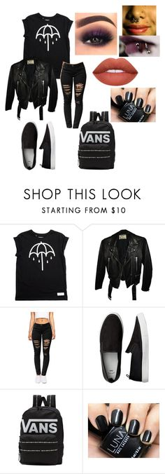 """""""Contest~ BMTH first day of freshman year"""" by band-trassh ❤ liked on Polyvore featuring Acne Studios and Vans"""