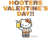 Hello Kitty to Become a Hooters Girl For Valentine's Day