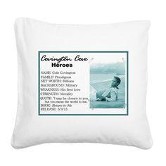 Cole Square Canvas Pillow