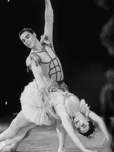 Ballet Dancer Jacques D'Amboise Performing in 'Midsummer Night's Dream'