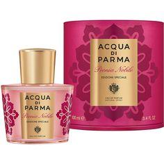 Acqua di Parma Peonia Nobile Special Edition Eau De Parfum 100ml (€135) ❤ liked on Polyvore featuring beauty products, fragrance, acqua di parma perfume, eau de perfume, edp perfume, acqua di parma and eau de parfum perfume