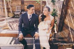 Rena and Eric were married here at #SmokyHollowStudios last month. What a beautiful day at the #studio it was! Check out some of photos taken by Jenny Rolapp #Photography of their #wedding day