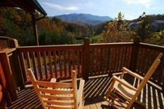 Our cabins feature private decks where you can relax and enjoy the stunning views of the Smoky Mountains Gatlinburg Cabin Rentals, Smoky Mountains Cabins, Looking Out The Window, Stunning View, Garden Bridge, Great Places, Outdoor Structures, Decks, Relax