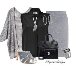 Back to Work Tuesday Outfit by arjanadesign on Polyvore