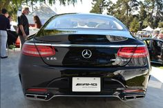 2015 Mercedes-Benz S65 AMG Coupe  Rear View