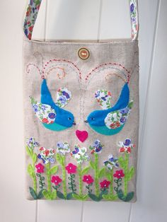 Unique Handmade Bag / purse decorated with by moongazerdesigns,   For sale on Etsy