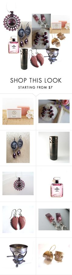 """Berry Pink"" by inspiredbyten ❤ liked on Polyvore featuring Chanel and vintage"