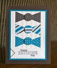 Stampin Up! Fathers Day by Krystal De Leeuw at Krystals Cards and More: Delightful Cards!! Cute idea!