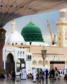 Madinah Almunawwarah Islamic Images, Islamic Pictures, Islamic Art, Islamic Quotes, Masjid Haram, Al Masjid An Nabawi, Mecca Madinah, Mecca Kaaba, Pilgrimage To Mecca