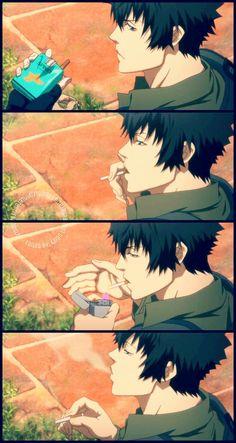 Hot Anime Boy, I Love Anime, Me Me Me Anime, Anime Eyes, Anime Manga, Anime Art, Psycho Pass The Movie, Ginoza Nobuchika, Japanese Illustration