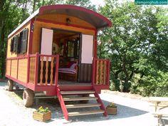 Caravan Cabin | #france #caravan #cute #travel